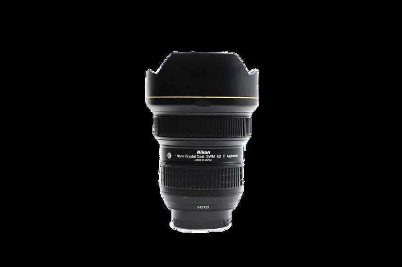 Nikkor 14-24mm f/2.8 G ED Lens