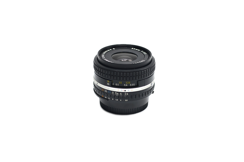 Nikon 35mm f/2.5 Series E AIS Manual Focus Lens