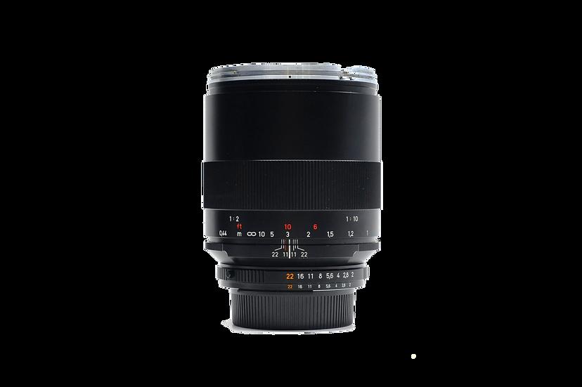 Zeiss 100mm f/2 Makro Planar ZF.2 T* Manual Lens
