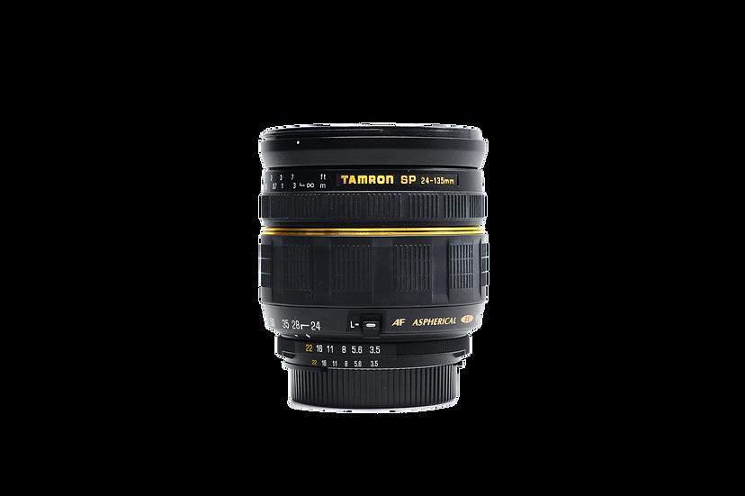 Tamron 24-135mm f/3.5-5.6 AD Aspherical IF AF Lens for Nikon