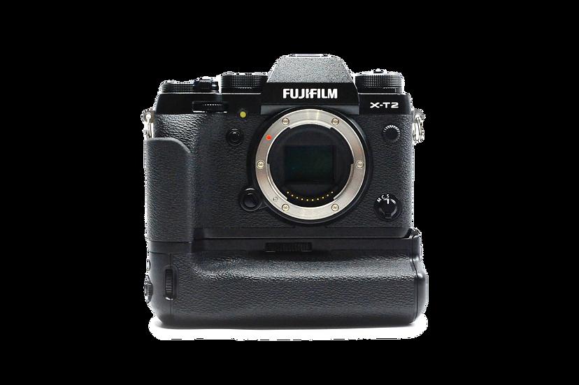Fujifilm X-T2 Mirrorless Digital Camera Body with VPB-XT2 Grip