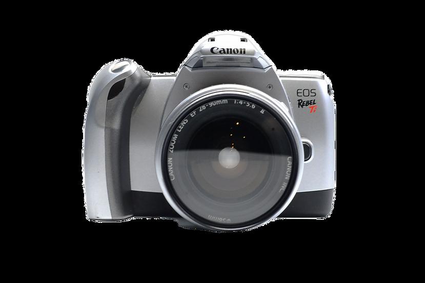 Canon Rebel Ti Film Camera w/ 28-90mm Lens