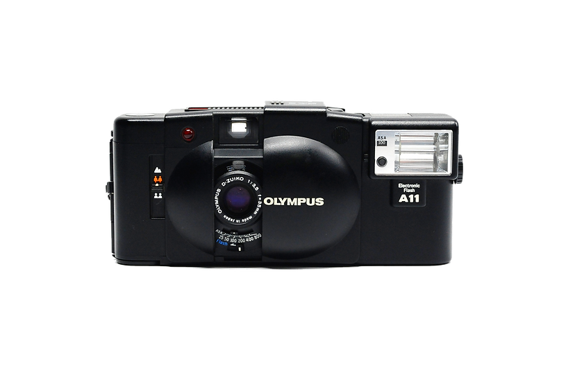 Olympus XA2 Point and Shoot Film Camera with Detachable Flash
