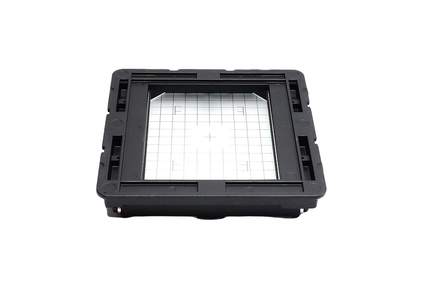 Cambo 4x5 Large Format Back Holder with Gridded Ground Glass