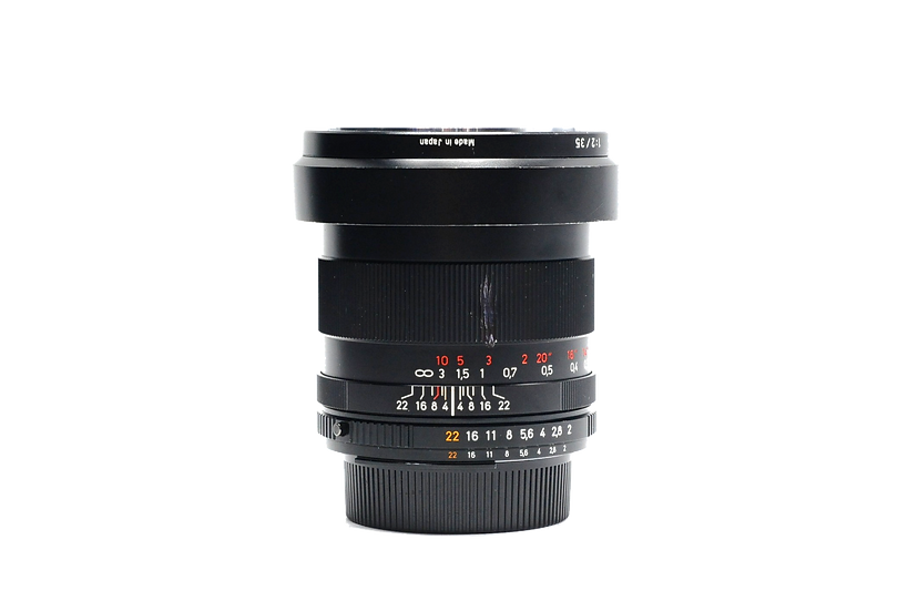 Zeiss 35mm f/2 Distagon ZF.2 T* AIS Manual Focus Lens for Nikon F-Mount