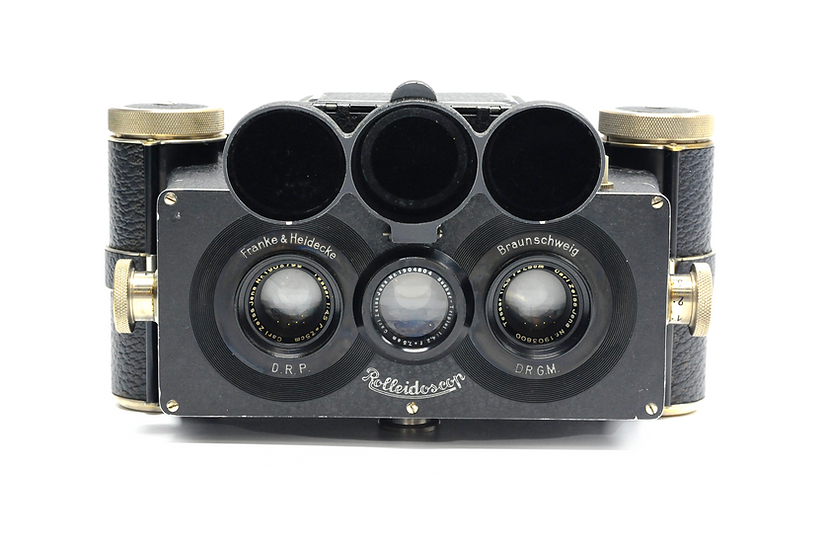 Rolleidoscop Stereo Camera 6x9 Model R Vintage Film Camera