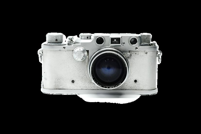 Leitz Leica IIIC Film Camera with 5cm f/2 Summitar Lens (1940)