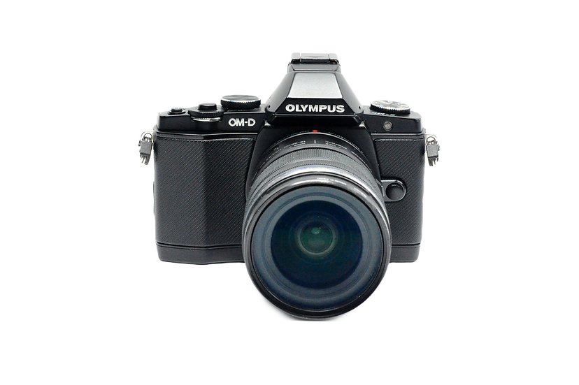 Olympus OM-D E-M5 Mirrorless Camera with 12-50mm Lens