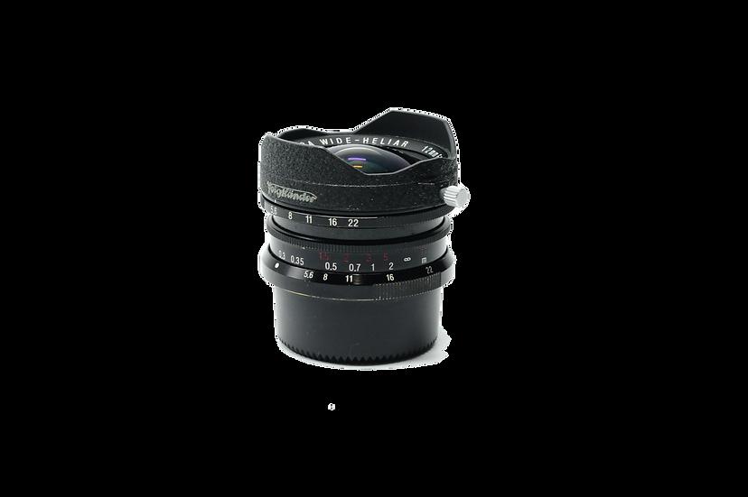 Voigtlander 12mm f/5.6 Black Ultra Wide Heliar M3 Aspherical Lens