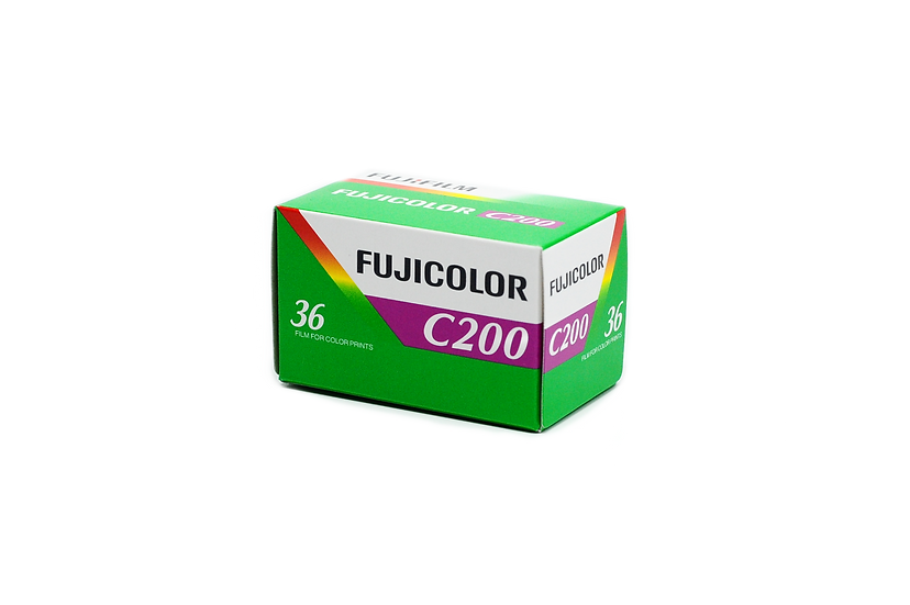 Fujicolor C200 Color 35mm Film, 36 Exposures