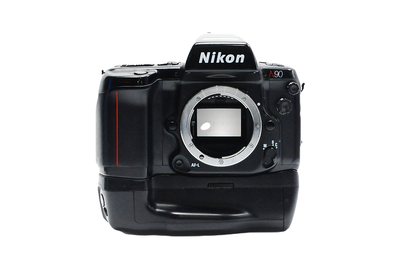 Nikon N90 Film Camera with MB-10 Battery (Body Only)