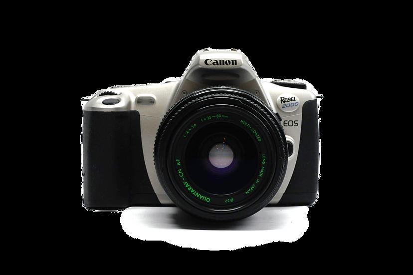 Canon Rebel EOS 2000 Film Camera w/ 35-80mm Lens