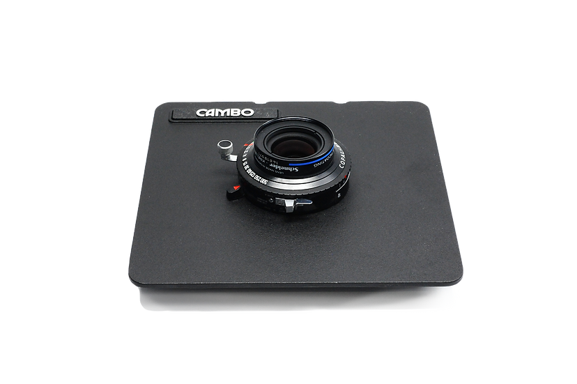Schneider-Kreuznach Makro-Symmar HM 80mm f/5.6 Copal No.0 Lens with Cambo Board