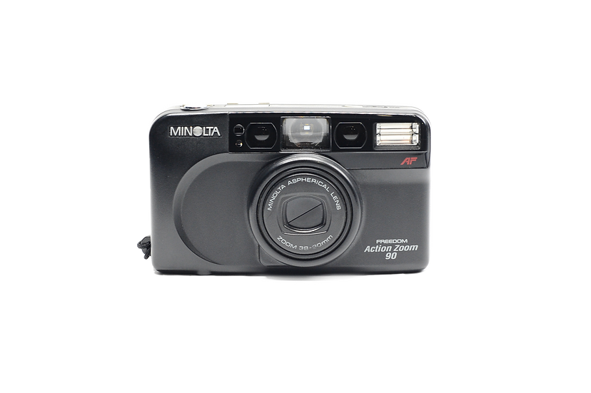 Minolta Freedom Action Zoom Point and Shoot Film Camera