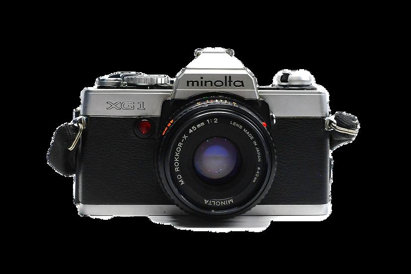 Minolta XG-1 Film Camera w/ 45mm f/2 Manual Lens