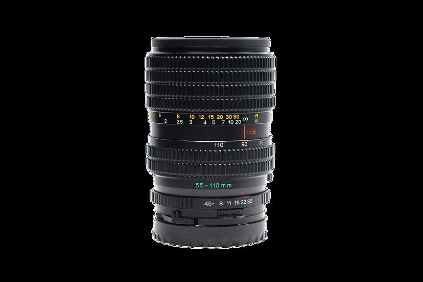 Mamiya 55-110mm F/4.5 Sekor Zoom Lens