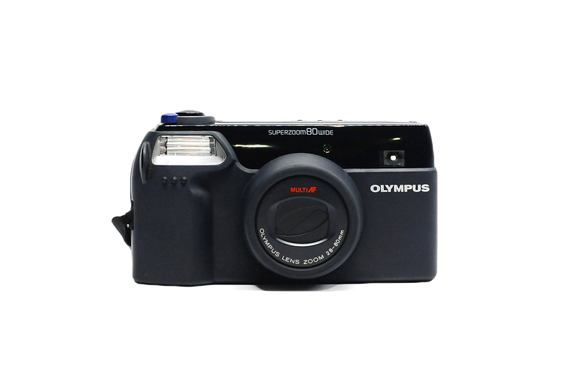 Olympus Superzoom 80 Wide Point and Shoot Film Camera