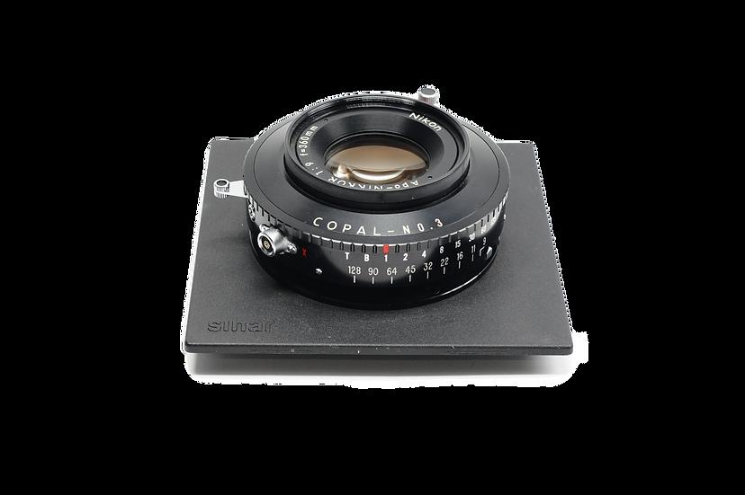 Nikon APO Nikkor 360mm f/9 Copal Lens with Board