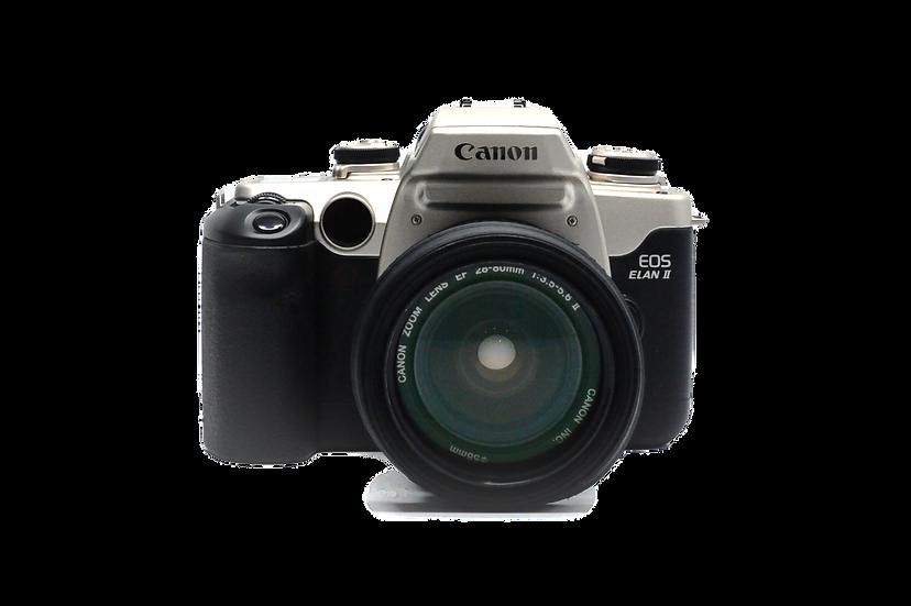 Canon EOS Elan II with EF 28-80mm Zoom Lens Film Camera