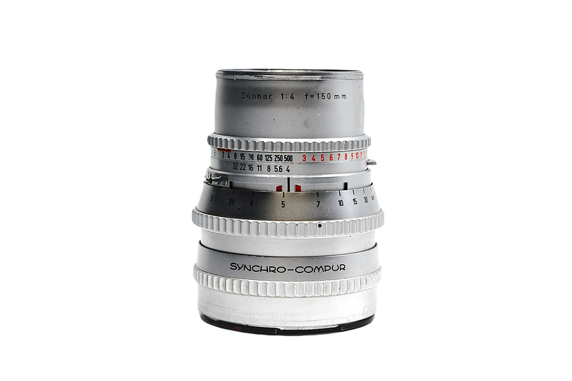 Hasselblad 150mm f/4 C Chrome Carl Zeiss Sonnar Lens