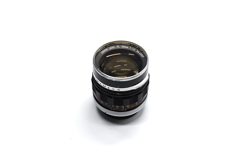 Canon FL 58mm f/1.2 Lens