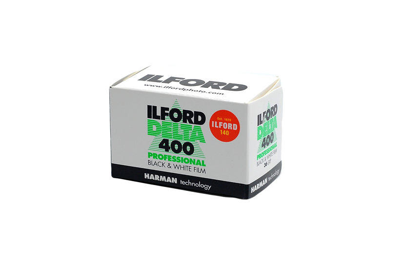Ilford Delta 400 Black & White Negative Film (35mm Roll Film, 36 Exposures)