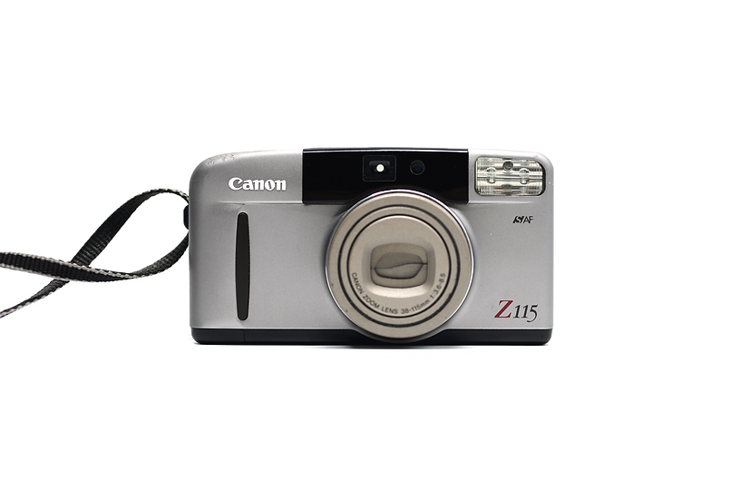 Canon Z115 Point and Shoot Film Camera 38-115mm f/3.6-8.5