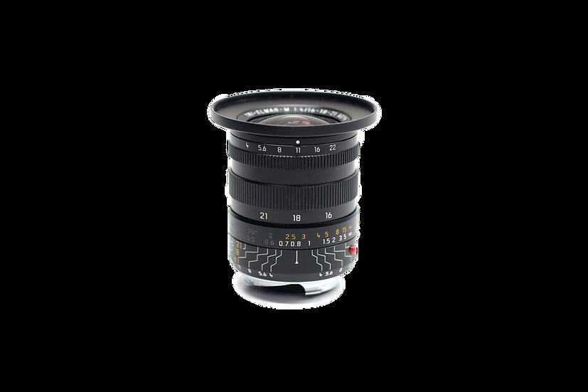 Leica Tri-Elmar-M 16-18-21mm f/4 ASPH. l Lens