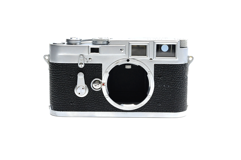 Leica M3 Double Stroke 35mm Rangefinder Film Camera (Body Only)