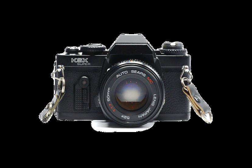 Sears KS-X Super with 50mm f/1.7 Lens (Pentax K Mount)