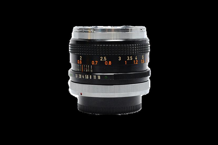Canon 50mm f/1.8 Manual Lens