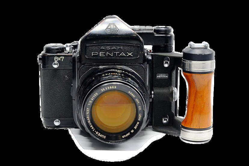 Pentax 67 Medium Format Film Camera with 105mm f/2.4 Lens
