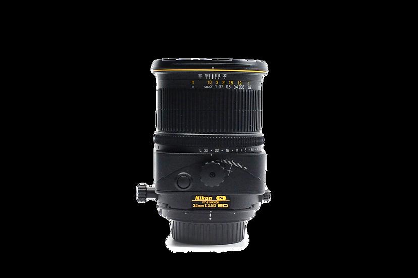 Nikon Wide Angle PC-E Nikkor 24mm f/3.5 D ED Lens