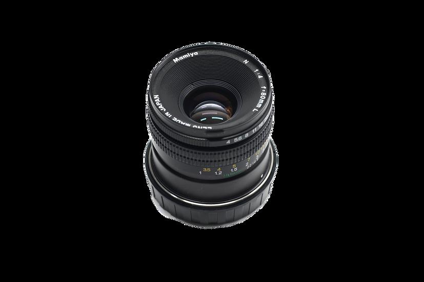 Mamiya N 80mm f/4 Lens