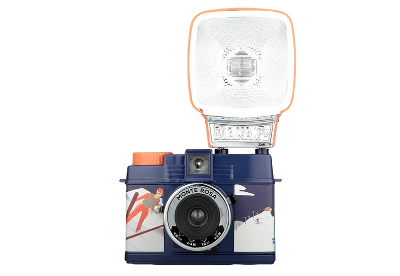 Lomography Diana Mini 35mm Camera with Flash (Monte Rosa)
