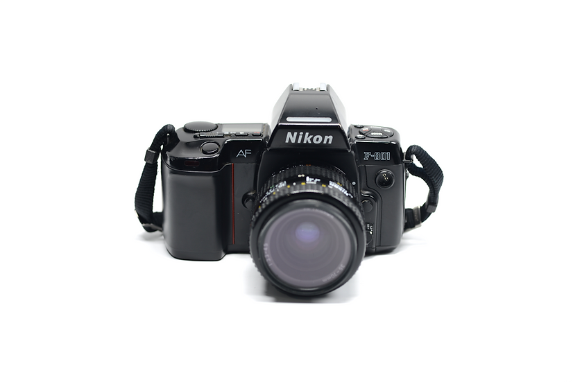Nikon F-801 (N8008 in USA) Film Camera with 35-70mm f/3.3-4.5 Lens