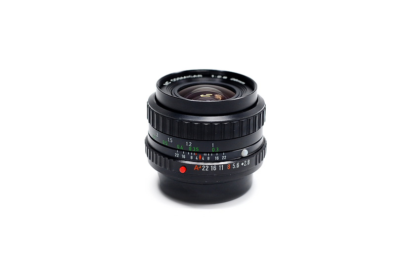 Cosmicar 28mm f/2.8 SMC-A Manual Lens