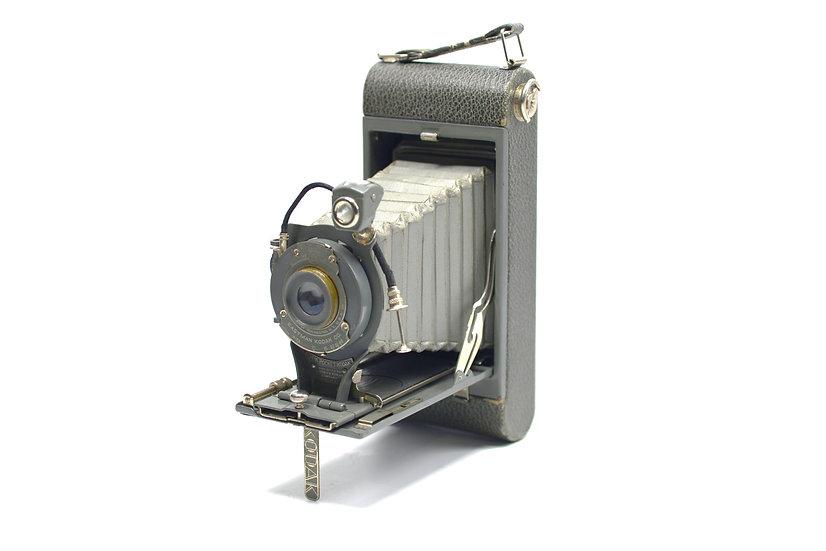 Vintage Foldable Kodak 1A-116 Film Camera (Grey Color)