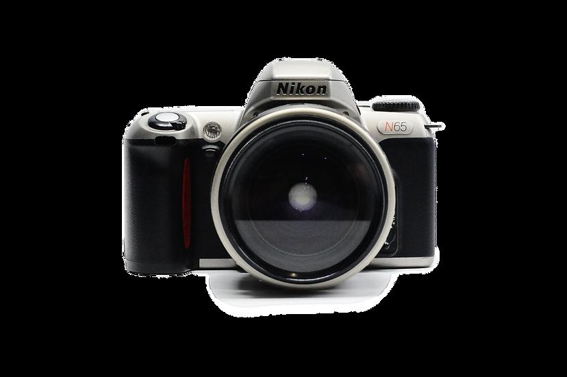 Nikon N65 Film Camera with Quantaray 28-80mm Lens