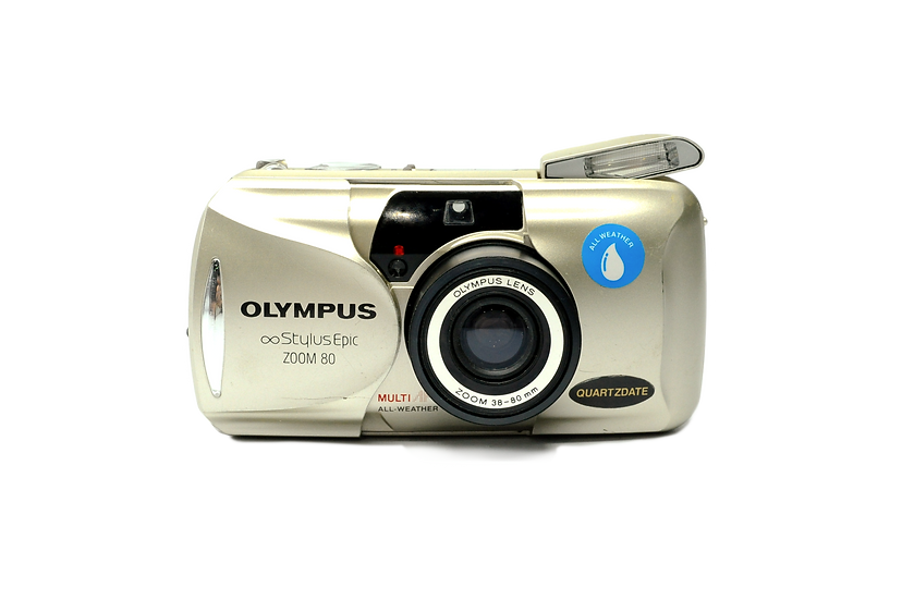 Olympus Stylus Zoom Epic 80 Quartzdate Film Camera