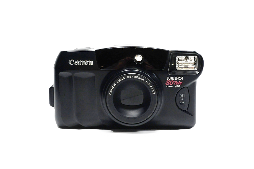 Canon Sure Shot 80 Tele Point and Shoot Film Camera