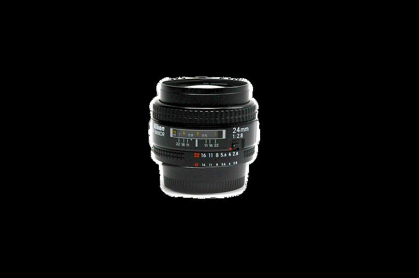 Nikon AF 24mm f/2.8 (Non-D) Lens