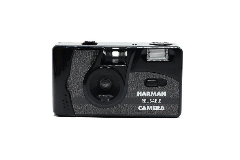 Ilford Harman Reusable 35mm Film Camera with 2 Rolls of Film