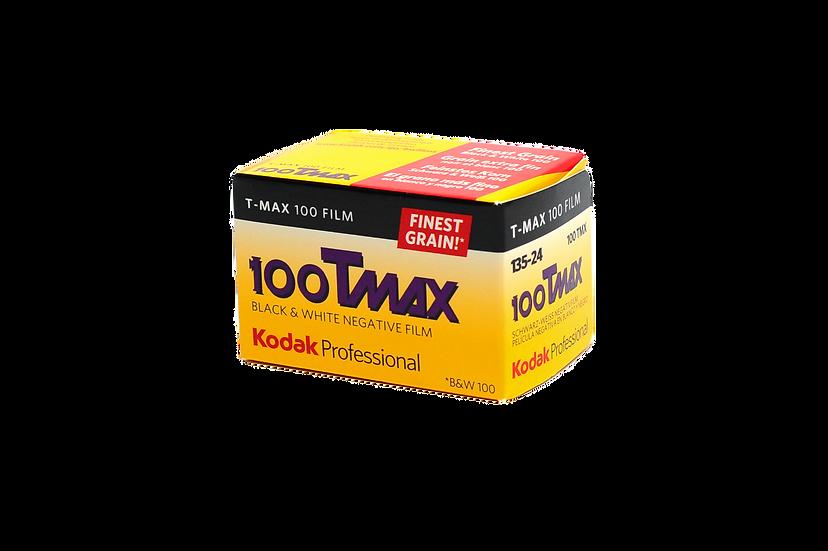Kodak T-Max 100 Black and White Negative Film (35mm Roll Film, 36 Exposures)