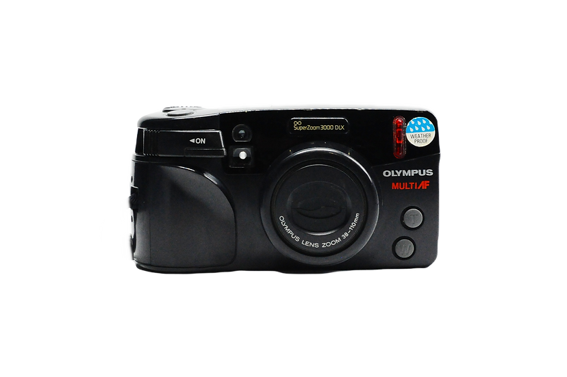 Olympus SuperZoom 3000 DLX MultiAF with 38-110mm Lens Point & Shoot Film Camera