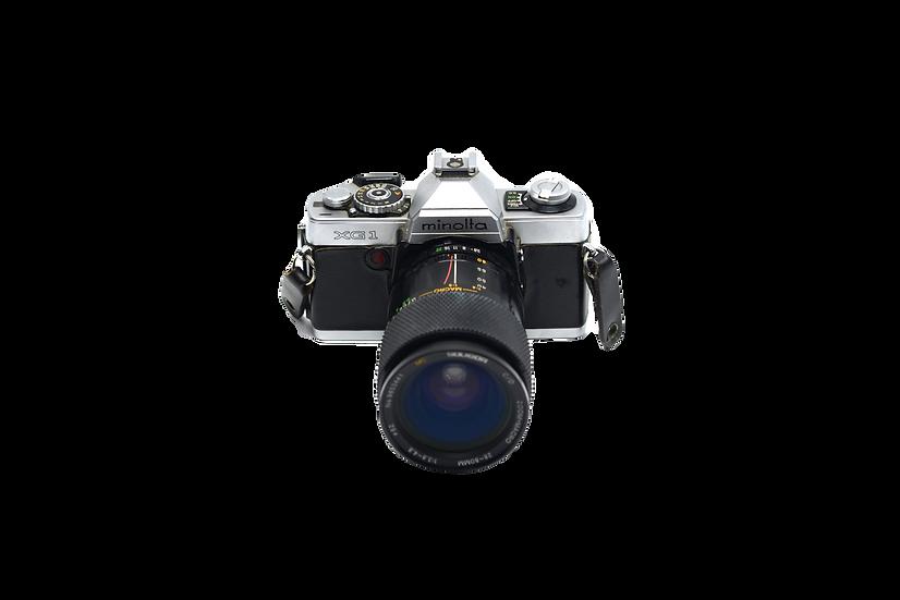Minolta XG 1 with Soligor 28-80mm f/3.8-4.8 Lens
