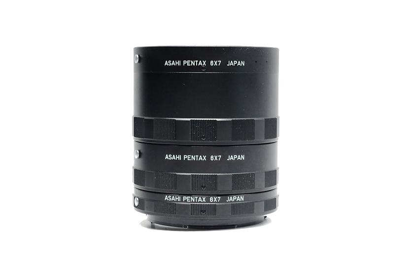 Pentax 67 Extension Tube Set (1,2, and 3) for Macro Lens