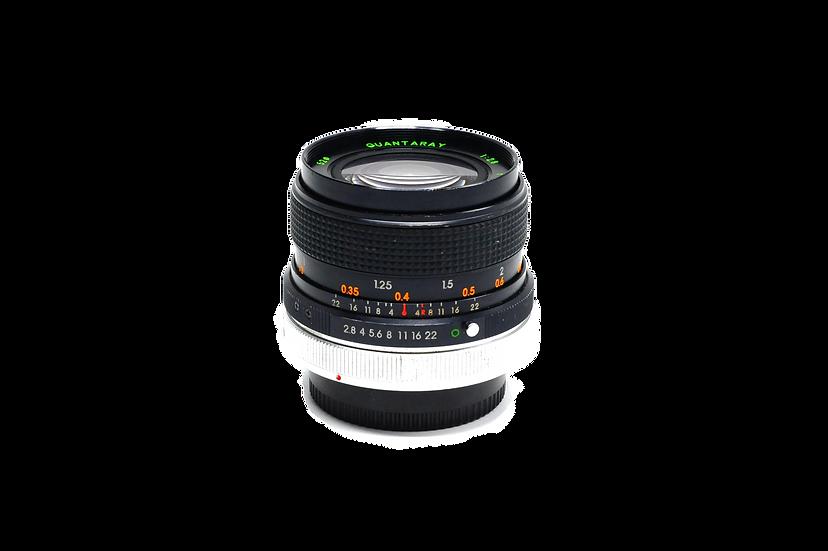 Quantaray 28mm f/2.8 Lens for Canon FD MF Cameras