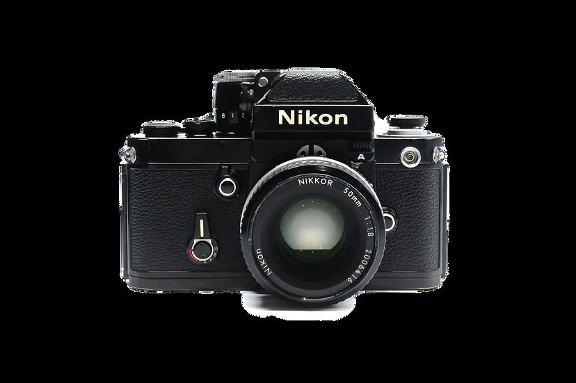Nikon F2A Photomic with 50mm f/1.8 AI Manual Film Camera