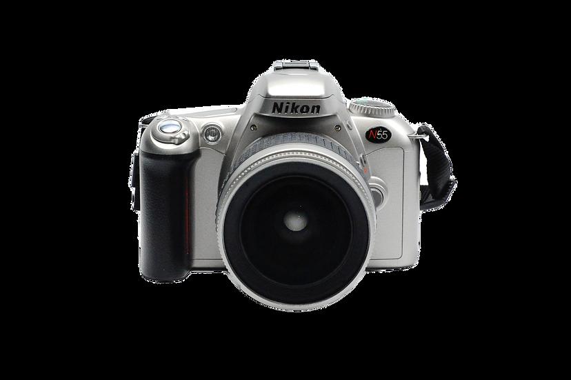 Nikon N55 Film Camera with 28-80mm f/1.3-5.6 AF Lens